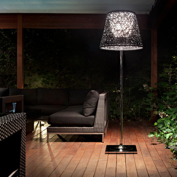 U0027Ktribe Outdooru0027 Floor Lamp Transitional Patio