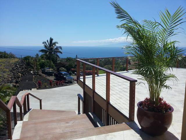 Kupulau Project tropical-patio