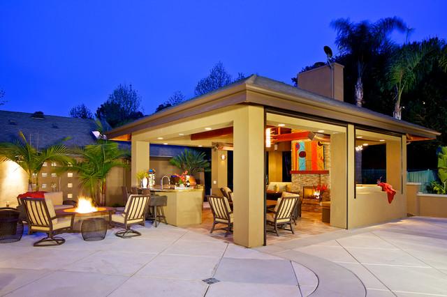 La jolla outdoor living room contemporary patio san for Living room la jolla
