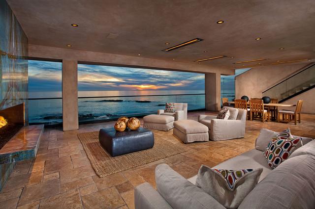 Laguna Beachfront Contemporary - Contemporary - Patio - orange county - by GRADY-O-GRADY ...