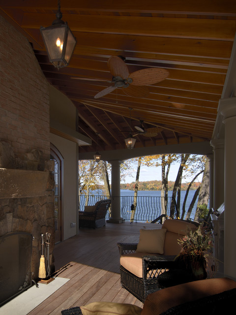 Lake Country Builders traditional-patio