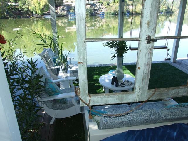 Lake Dock eclectic-patio