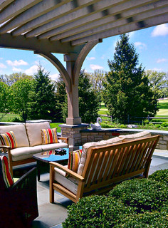 Lake Forest Residence traditional-patio