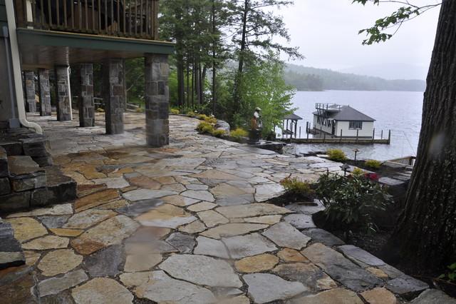 Lake George - Saratoga, NY Region traditional-patio