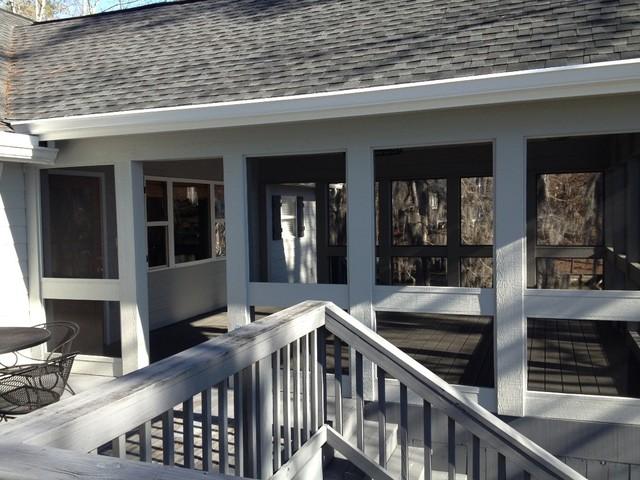 Lake House traditional-patio