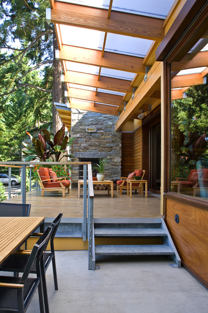 Lake Washington Residence contemporary-patio