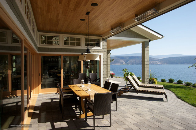 Lakefront Living - Traditional - Patio - other metro - by ... on Lakefront Patio Ideas id=52316