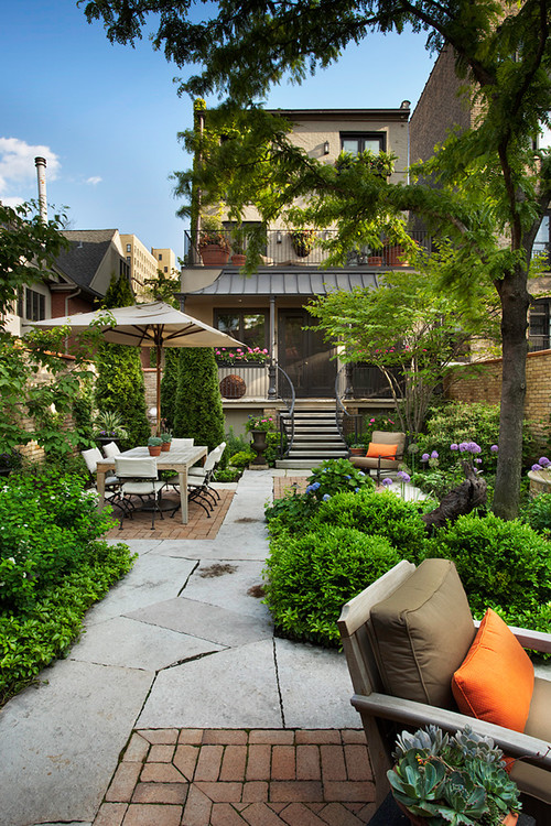 Small backyard ideas no grass add value to your home for Landscape design chicago