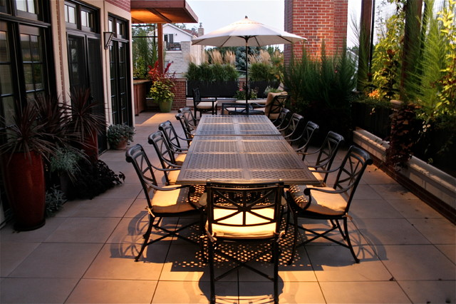 Lakeview Terrace Modern Patio Chicago By Chicago