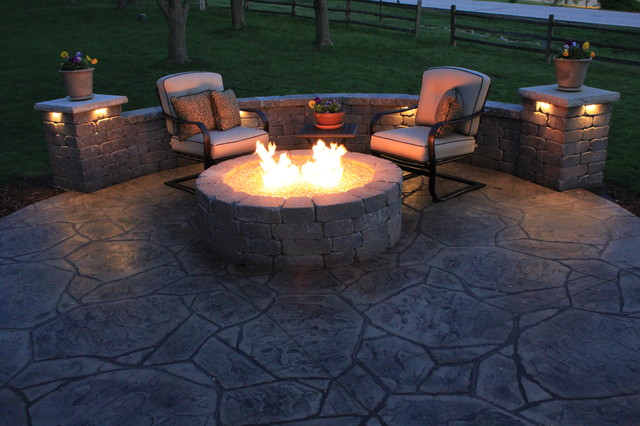 Lakewood - Contemporary - Patio - kansas city - by Concrete Concepts LLC