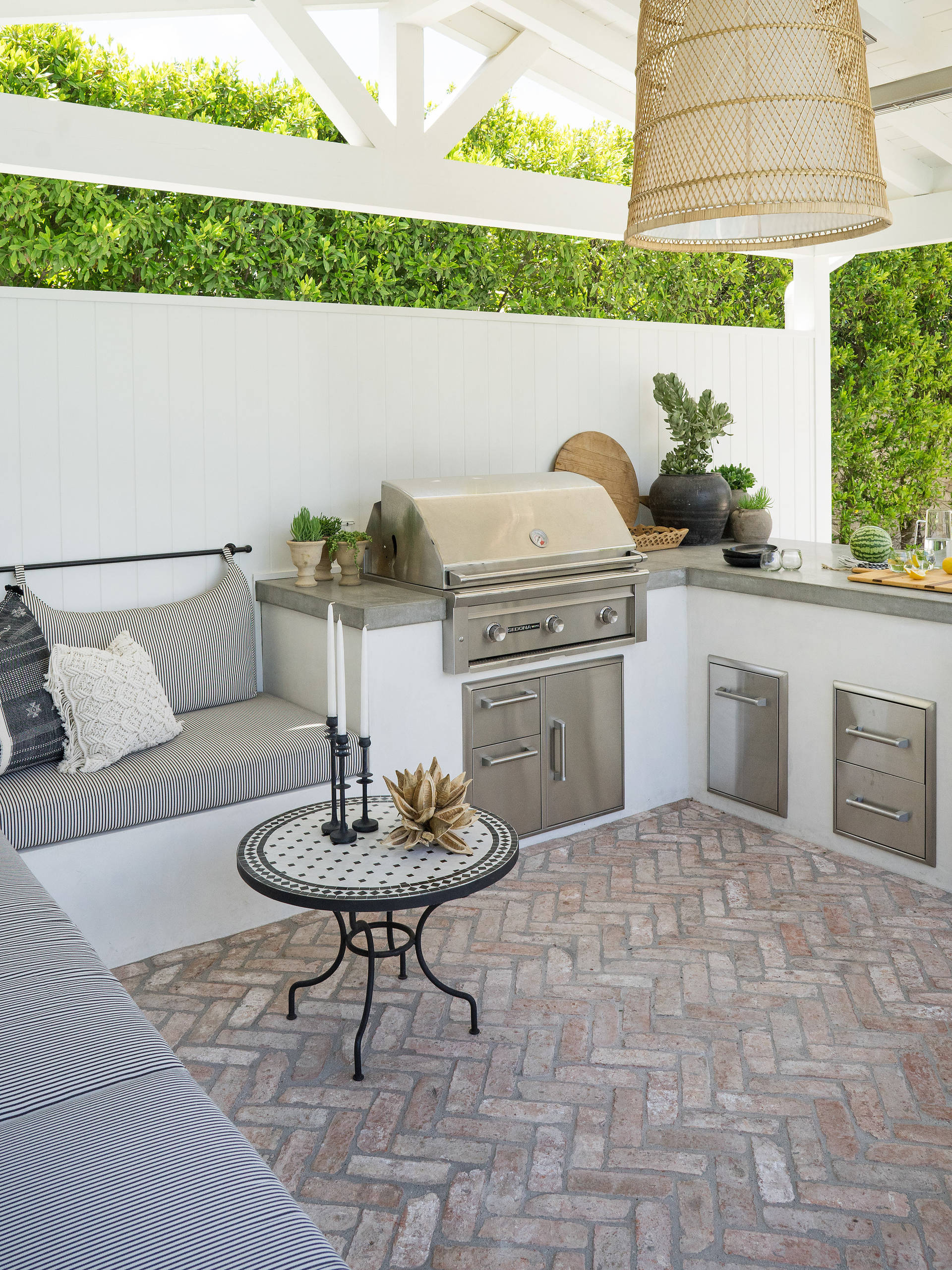 75 Beautiful Outdoor Kitchen Design Pictures Ideas January 2021 Houzz