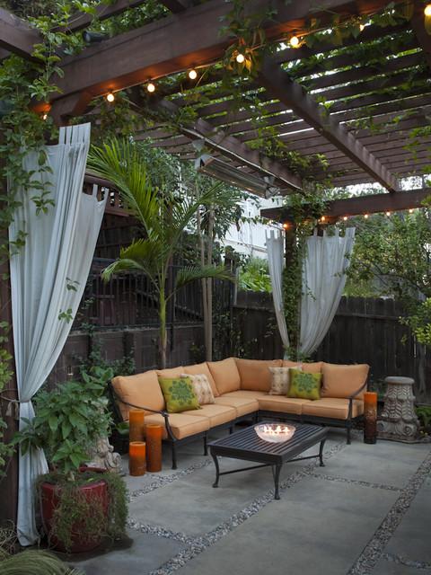 Landscape Design - Build contemporary-patio