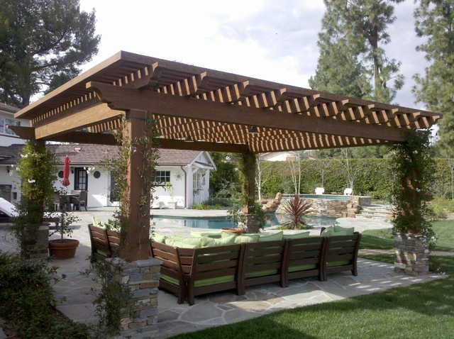 landscape contemporary-patio