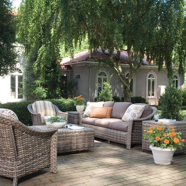 LaneVenture Outdoor Patio Furniture Patio atlanta by authenTEAK Outdoor