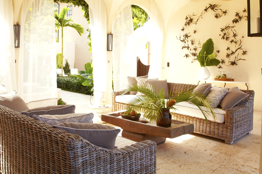 Tuscan patio photo in Other