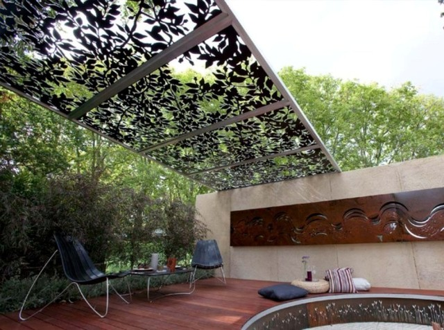 Laser Cut Metal PERGOLAS Eclectic Patio Melbourne