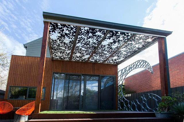 Laser Cut Metal Pergolas Eclectic Patio Melbourne