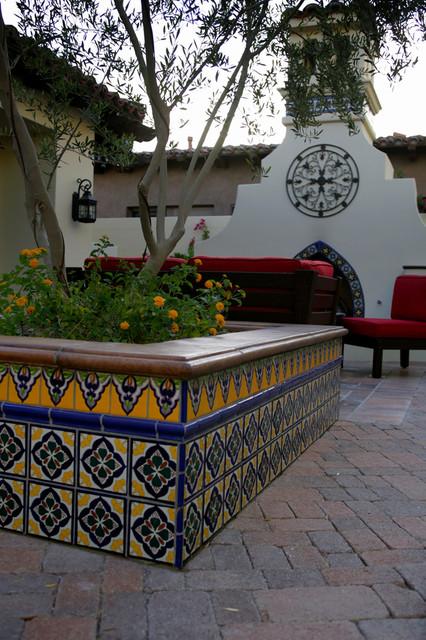 Latin Patios mediterranean-patio