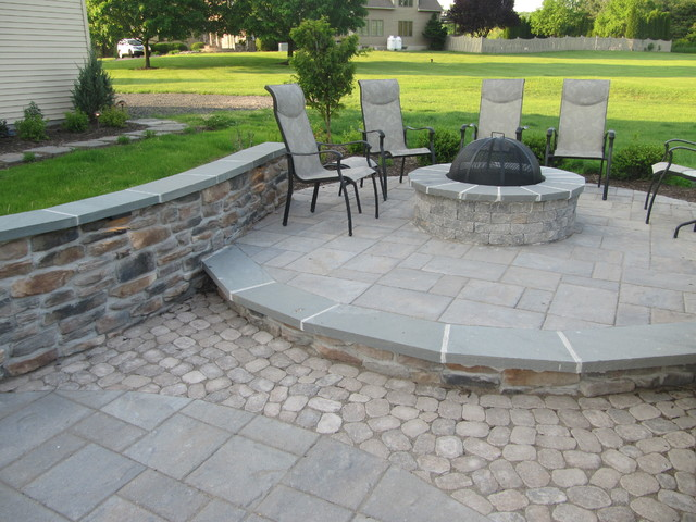 Lebanon , NJ Backyard Transformation traditional-patio