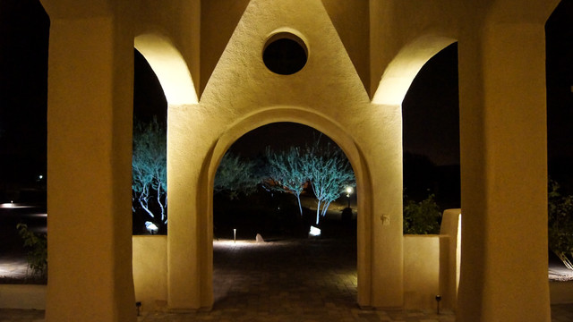 Led Exterior Wall Wash Lighting Mediterranean Patio St Louis By Super Bright Leds
