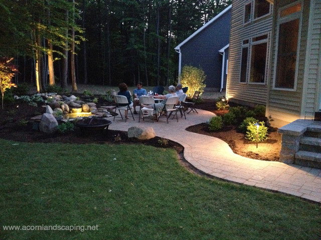 LED Landscape Lighting Designer Installer Service Monroe County - Lighting for patio