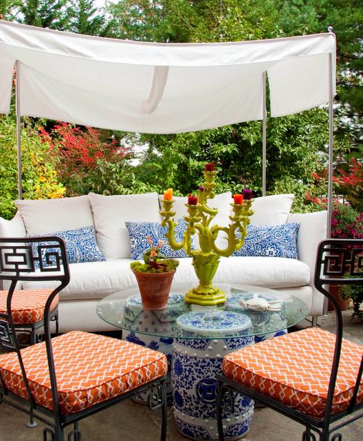 Leslie Hayes Interiors contemporary-patio