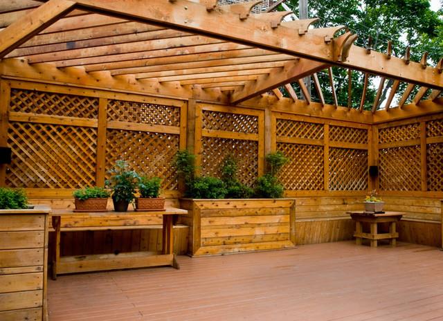 LG Construction + Development Exterior contemporary-patio