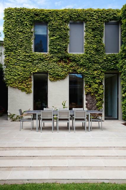 Light Simplicity Contemporary Patio Melbourne on Eckersley Garden Architecture Pool