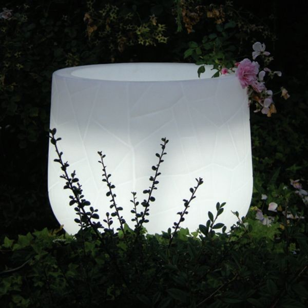 Lighted Indoor-Outdoor Planter outdoor-pots-and-planters