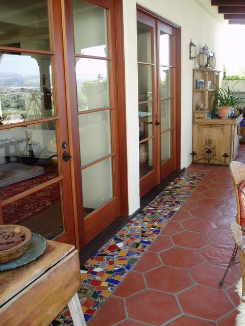 Lilian Rice Estate Landscape Rancho Santa Fe Courtyard