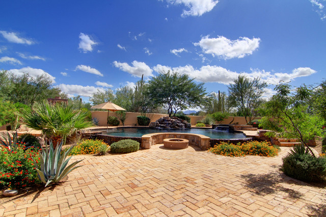 Listing by Louis A. McCall II - Peakview Trails mediterranean-patio