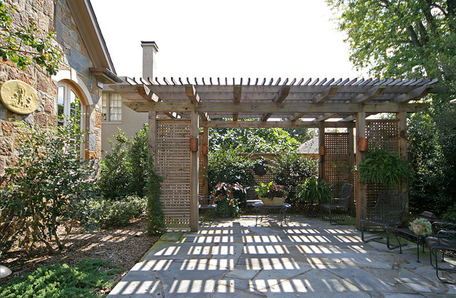 Little Rock Traditional traditional-patio