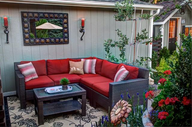 Littleton Renovation traditional-patio