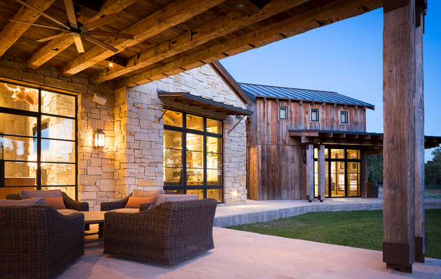Llano Ranch Rustic Patio Austin By Cornerstone