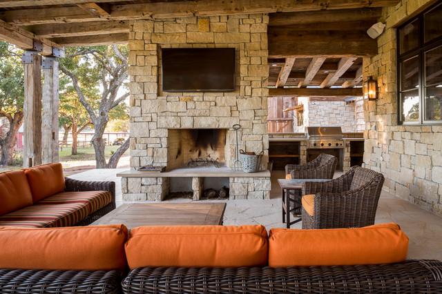 Llano Ranch - Rustic - Patio - Austin - by Cornerstone ...
