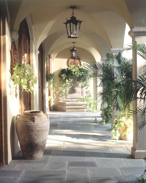 Loggia mediterranean patio dallas by chambers for Garden loggia designs