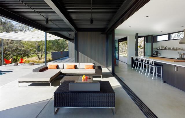 Long valley ranch moderno patio los angeles di for Moderno bagno ranch