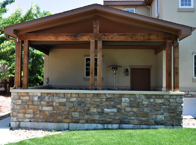 Longmont Custom Home traditional-patio