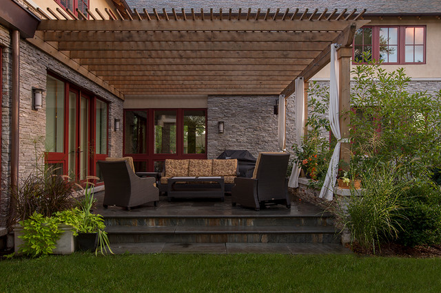 Lorel Park Residence Transitional Patio Chicago By