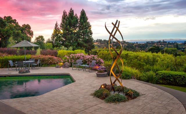 Los Altos Hills contemporary-patio