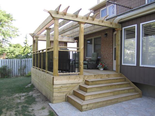Low Level Decks Traditional Patio Toronto By Jws