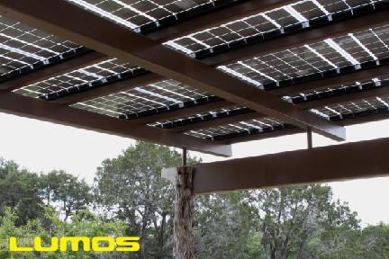 Lumos LSX Solar Patio Covers, Pergola Contemporary Patio