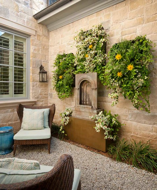 Lupton traditional patio dallas by danes custom homes - Houses large patios ...