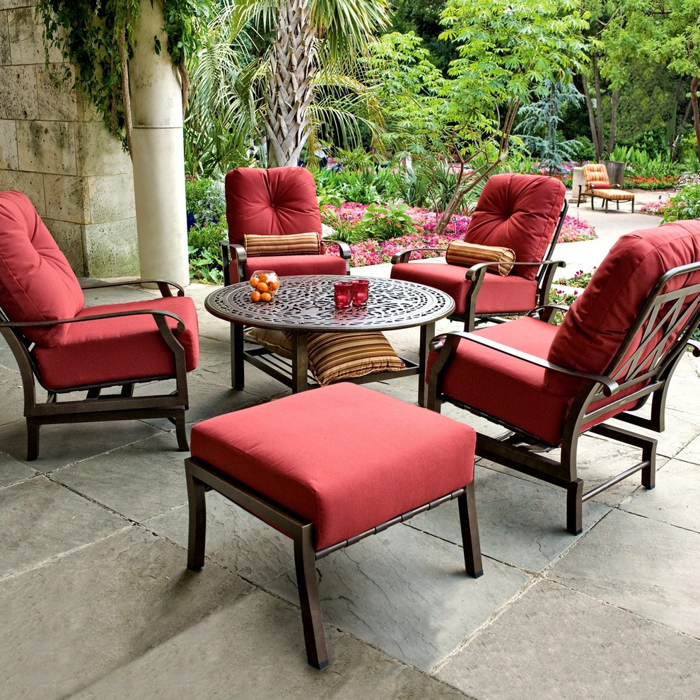 Luxury Outdoor Furnishings - Traditional - Patio - Dallas ... on Living Accents Cortland Patio Set id=63554