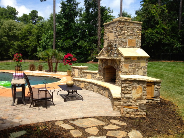 Luxury outdoor living traditional patio other by for Tradition outdoor living