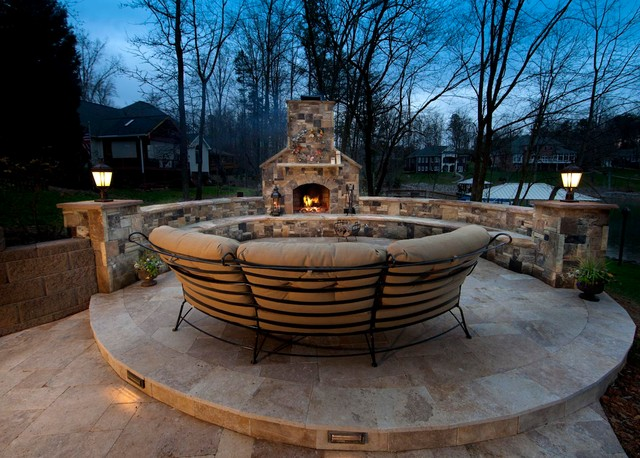 Luxury outdoor living traditional patio charlotte for Luxury outdoor living