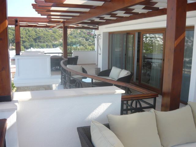 Luxury Villa - Bodrum traditional patio