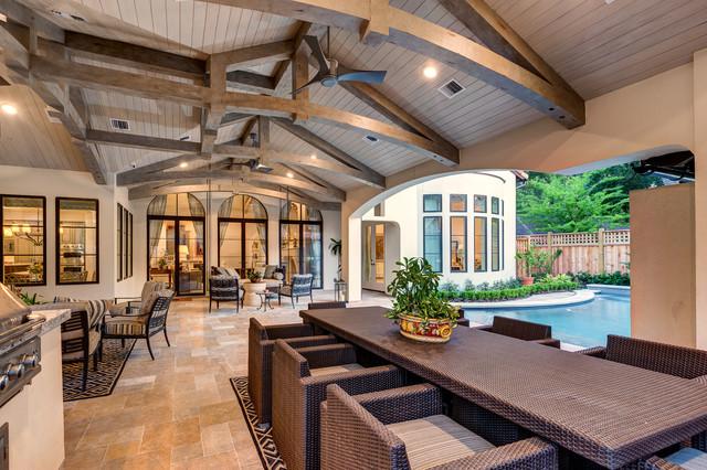 Lynbrook - Houston, Tx. transitional-patio