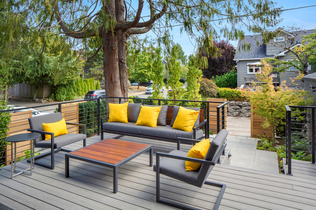 Madison Park Residence Modern Patio Seattle By