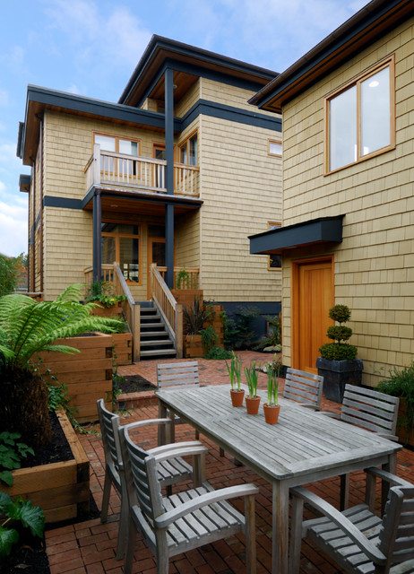 Madison Park Contemporary Patio Seattle By Shugart